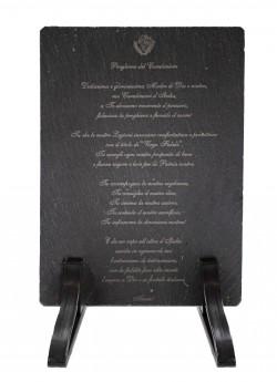 Virgo Fidelis stampata su pietra (002316049)