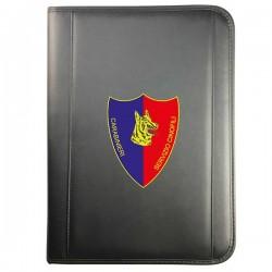 Cartella Portablocco Arma Carabinieri-Scudetto Cinofili (15PB0625)